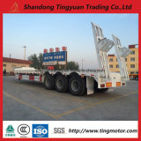 50 Ton Three Axles Low Bed Semi Trailer for Excavator Transport