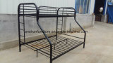 Jas-043 Wholesale Metal Round Frame Triple Bunk Bed for School Dormitory