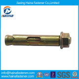 Color Zinc Carbon Steel Wedge Anchor Bolt