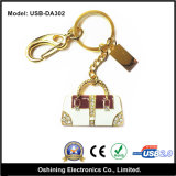 Handbag Design USB Keychain with Diamond (USB-DA302)