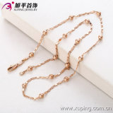 Popular Rose Gold Color Man Necklace (42386)