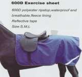 600d Polyester Ripstop Waterproof Breathable Fleece Lining Exercise Sheet