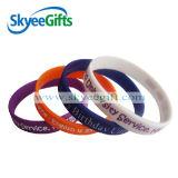Printing White 1/2 Siliocne Bracelets