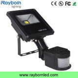 Outdoor 10W 20W 50W Motion Sensor PIR LED Flood Light