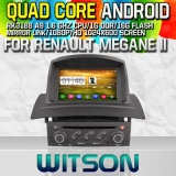 Witson S160 for Renault Megane II Car DVD GPS Player with Rk3188 Quad Core HD 1024X600 Screen 16GB Flash 1080P WiFi 3G Front DVR DVB-T Mirror-Link (W2-M098)