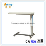 Hospital Hydraulic Over Bed Table