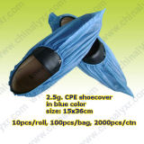 Ly Single Use Disposable CPE Shoecover (LY-PSC-B)