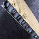 Punched Bamboo Surface Opened Edge Aluminum Honeycomb Panels
