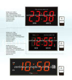 Acrylic Red LED Wall Clock with Remote Control