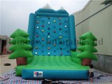 New Design Cheap Outdoor Adventure Inflatable Rock Climbing Wall
