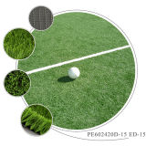 Fireproof Test Artificial Grass Carpets for Football Stadium