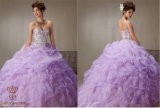 Handmade Beading Prom Tutu Embroidery Dress, Tailored