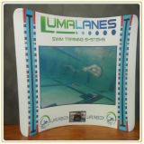 Fantastic Displays 8FT. Serpentine Wave Tube Display