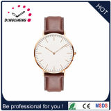 Fashion Waterproof Mens Ladies Brand Leather Strap Watch (DC-1347)