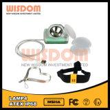 Waterproof IP68 Miner Headlamp Wisdom Lamp4, LED Multi-Purpose Cordless Cap Lamp