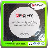 Ntag213 NFC Passive RFID Sticker Tag Rewritable Transponder