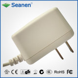 6watt/6W Power Adapter with Us Pin, White or Black Color