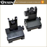 Wholesale Tactical Gear Flip up Front and Rear Back up Iron Sight