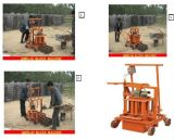 High Capacity Qmr2-45 Electric Non-Fired Ecological Movable Concrete Hollow Block Machine