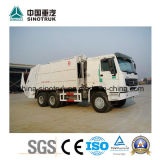 Professional Supply HOWO Compression Garbage Truck with Different Tank Size