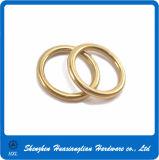 Solid Copper Brass Nummular Split Thick O Rings for Handbag