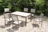 Wooden Lounge Garden Patio Outdoor Dining Furniture (FS-4120+FS-4121+FS-4122)