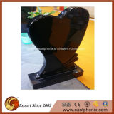 Natural Polished Shanxi Black Granite Tombstone