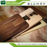 Free Logo Ultra Thin Wooden USB Card