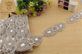 New Wedding Dress Handmade Beaded Rhinestone Belts, DIY Accessories