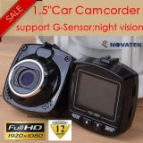 "Cheap 1.5"" 5.0mega Car DVR with Sensor, Motion Dection, Night Vision, Car Recorder DVR-1505"