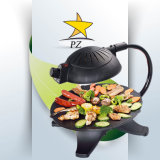 Indoor Smokeless Electric BBQ Grill Barbecue BBQ Grill (ZJLY)