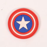 High Quality Soft Rubber Badges