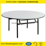 Cheaper Price Metal Folding Plywood Round Banquet Tables