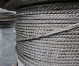 316 Non-Magnetic Stainless Steel Wire Rope 7X7, Diameter 3.18mm
