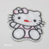 Hello Kitty Motif Sewing Patch, Bear Heart Banana Pattern Garment Accessories, Beaded Applique