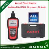 Original Autel Maxidiag Elite Md802 PRO All System Ds Model (MD701+MD702+MD703+MD704) Md 802 Full System