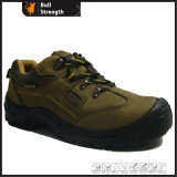 Basic Style Safety Shoes with Steel Toe Cap and Steel Midsole (SN1283)