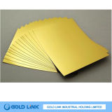 Gold Metallized Paperboard for Packaging of Goods and Gifts