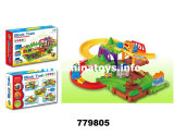 Battery Operated Train and Educational Building Block Game Toy (779805)