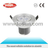 TCL-C-9W-D LED Ceiling Spotlight with CE. RoHS Approval