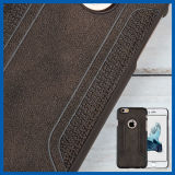 Leather Slim Snap on Hard Back Case for iPhone 6