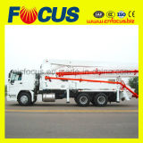 Truck Concrete Pump with Boom for Sale