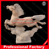 Horse Marble Sculpture Marble Statue for Garden Home Hotel Decoration