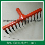 Steel Twist Rake Head for Farming Gardening
