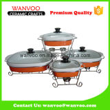 Factory Wholesale Non Stick Ceramic Grill Pan for Cooking Cake