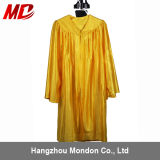 Wholesale Children Graduation Gown Only Shiny Gold