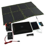 5W-150W Foldable Solar Charger, Solar Power Bank, USB Portable Solar Panels for iPhone, iPad, Camera, Notebook, USB