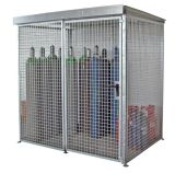 Gas Bottle Cylinder Galvanised Storage Cage
