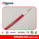 Low Loss 50 Ohm Mini RG6 CCTV Cable/CATV Cable/Coaxial Cable