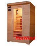 2017 Hotwind Hemlock Far Infrared Sauna for 2 Person-B2
